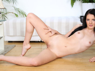 Teen dream Anie Darling is 18 and just budding..