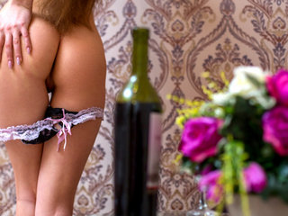 Lusty Ukrainian Christina B. is constantly on..