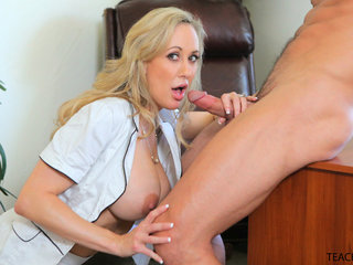 Hollie Mack is filming Brandi Love having an..